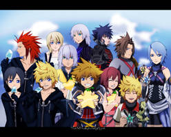 KH: Hearts Connected by tenchufreak
