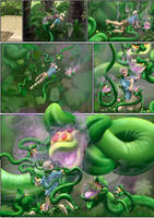 Island of Droseraceae, page 1 of 3 by Inkanyamba