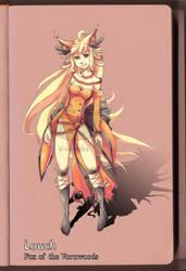 Louch - Fox of Vornwood by Vixenkiba