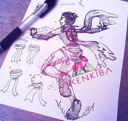 [FoRLoVE Nuzlocke] Teenager Vulcan - Cyndaquil by Vixenkiba