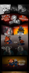 The White Tiger - Zootopia fans comic by R-FakonWolf
