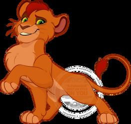 Uhuru - The proud prince by R-FakonWolf