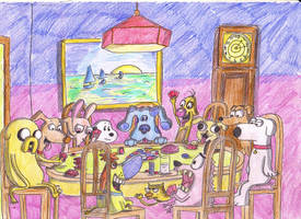 Poker Dogs by Finnjr63