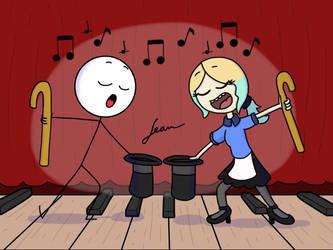 Dancing Duet by Finnjr63