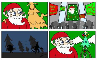 The Origin of the Christmas Virus by Finnjr63