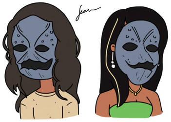 Putty Masks by Finnjr63
