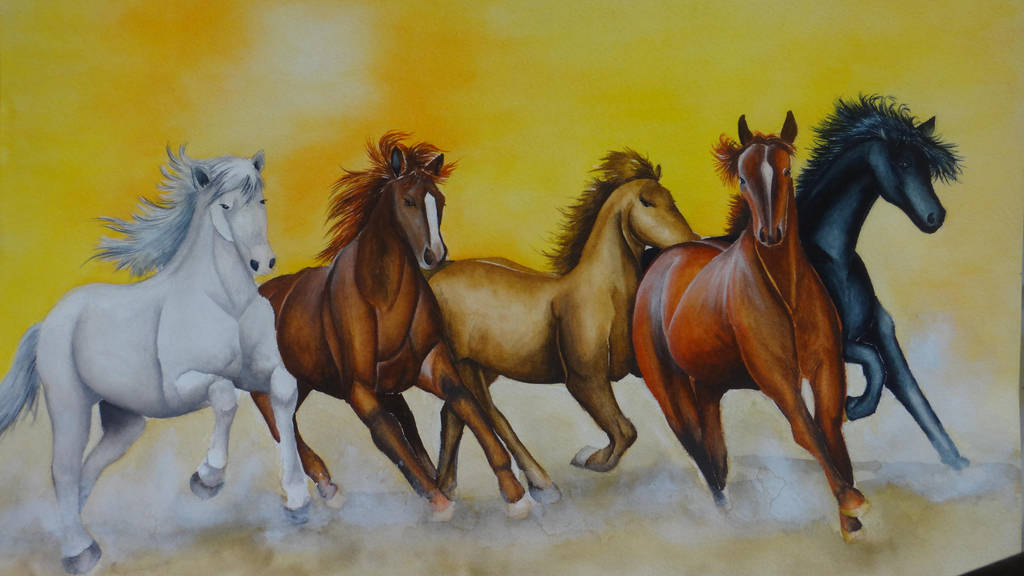 Horses of the Dawn by Druice