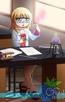 Chemical experiment no. 9 by Yet-One-More-Idiot