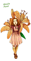 Dr Who Flower - Little Amelia by Miss Alex Aphey by Yet-One-More-Idiot