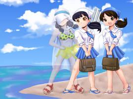Diamond Coast girls by Yet-One-More-Idiot