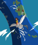 Pregataur in full flight by Yet-One-More-Idiot