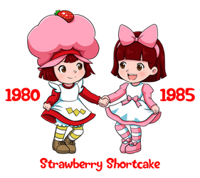 Strawberry Shortcakes by Yet-One-More-Idiot