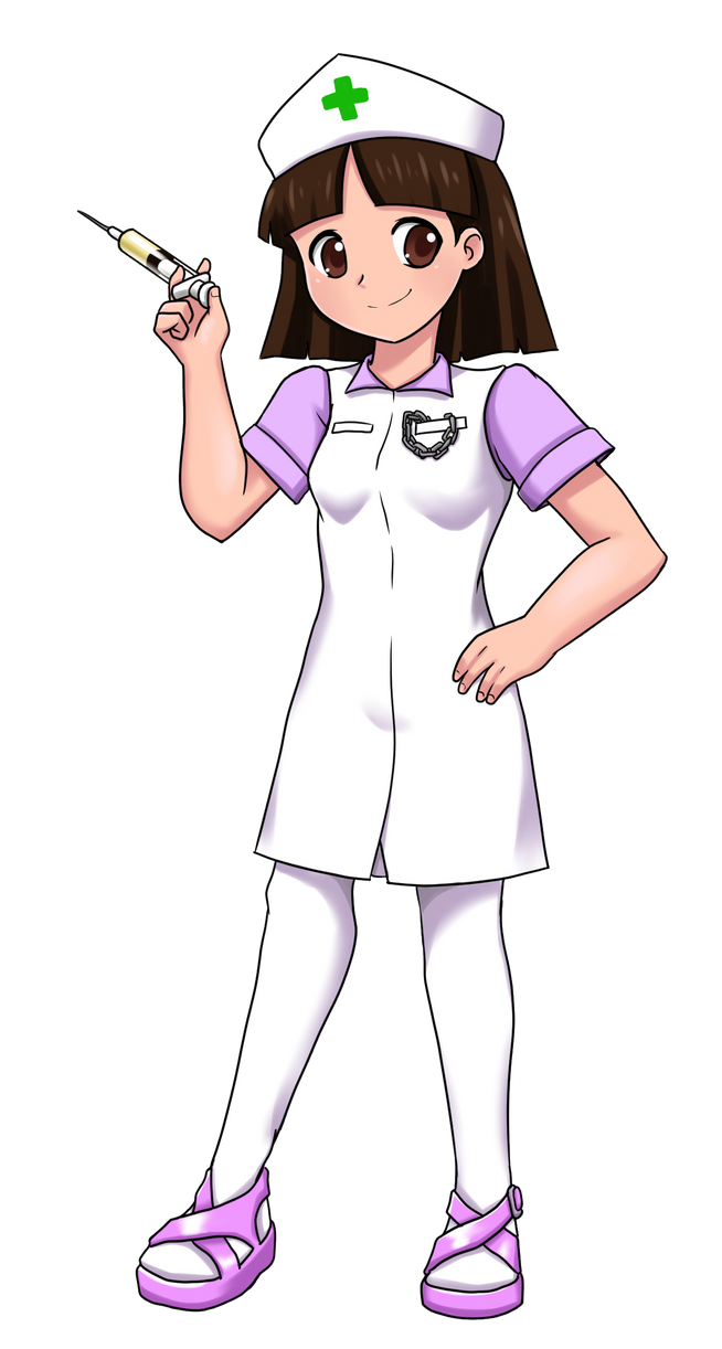 Nurse Robyn (Powerpuff Family Photos) by Yet-One-More-Idiot