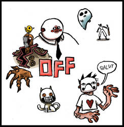 Off color by MortisGhost
