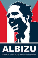 Albizu - P.R. Poster by exvoxdesigns