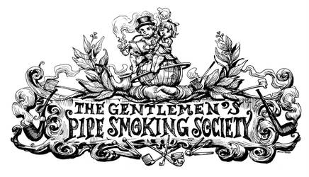 The Gentlemen's Pipe Smoking Society Banner by The-Hand