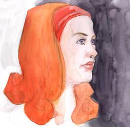 Portrait of Ronja by reginade