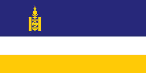 Flag of the Mongol-Buryat Federation by FoxyRedCat