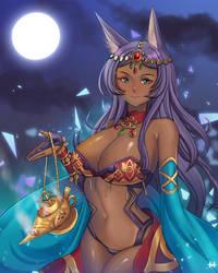 Queen of Sheba by HuieiiNa