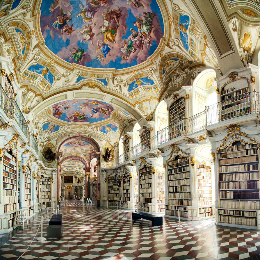 Library by LightQuake-Theatre