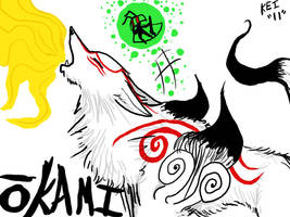 Ammy and Issun by KeikeiSama