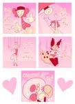 enCCore Valentine's cards by xrsjaru