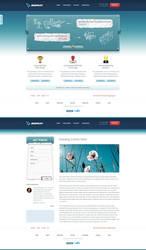 Displet webdesign revamp by bilalm