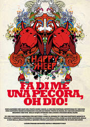 happy sheep ad by loveisickprojekt