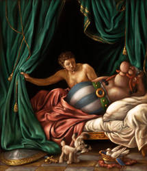 TDP - Mars and Obelix by floortjesart
