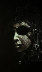 Miss Eyepatch by k1k0r0