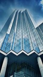 Towering Blue by NikitaMonday