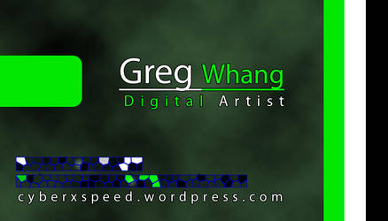 Business Card by cyberxspeed