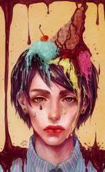 Sweet boy illustration by renaillusion