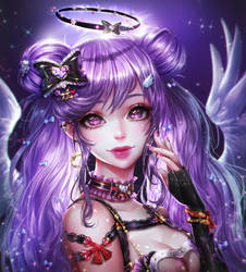 Karina (Commission) by renaillusion