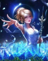 Lunafreya (Final Fantasy XV) by renaillusion