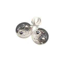YIN-YANG - earrings by artpoppy
