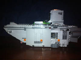 Lego Star Wars - First Order Transporter by Talaeladar
