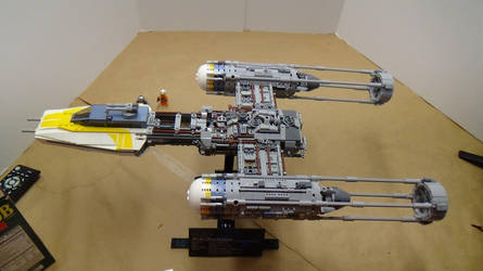 Lego Star Wars: Ultimate Collector's Series Y-Wing by Talaeladar