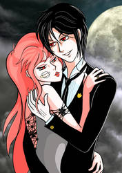 Black Butler and Zara HD by Giappi76