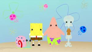 Spongebob Squarepants by amartiia