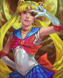 Sailor Moon by k-BOSE