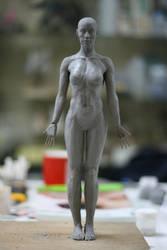 Sculpture Girl 1 by k-BOSE