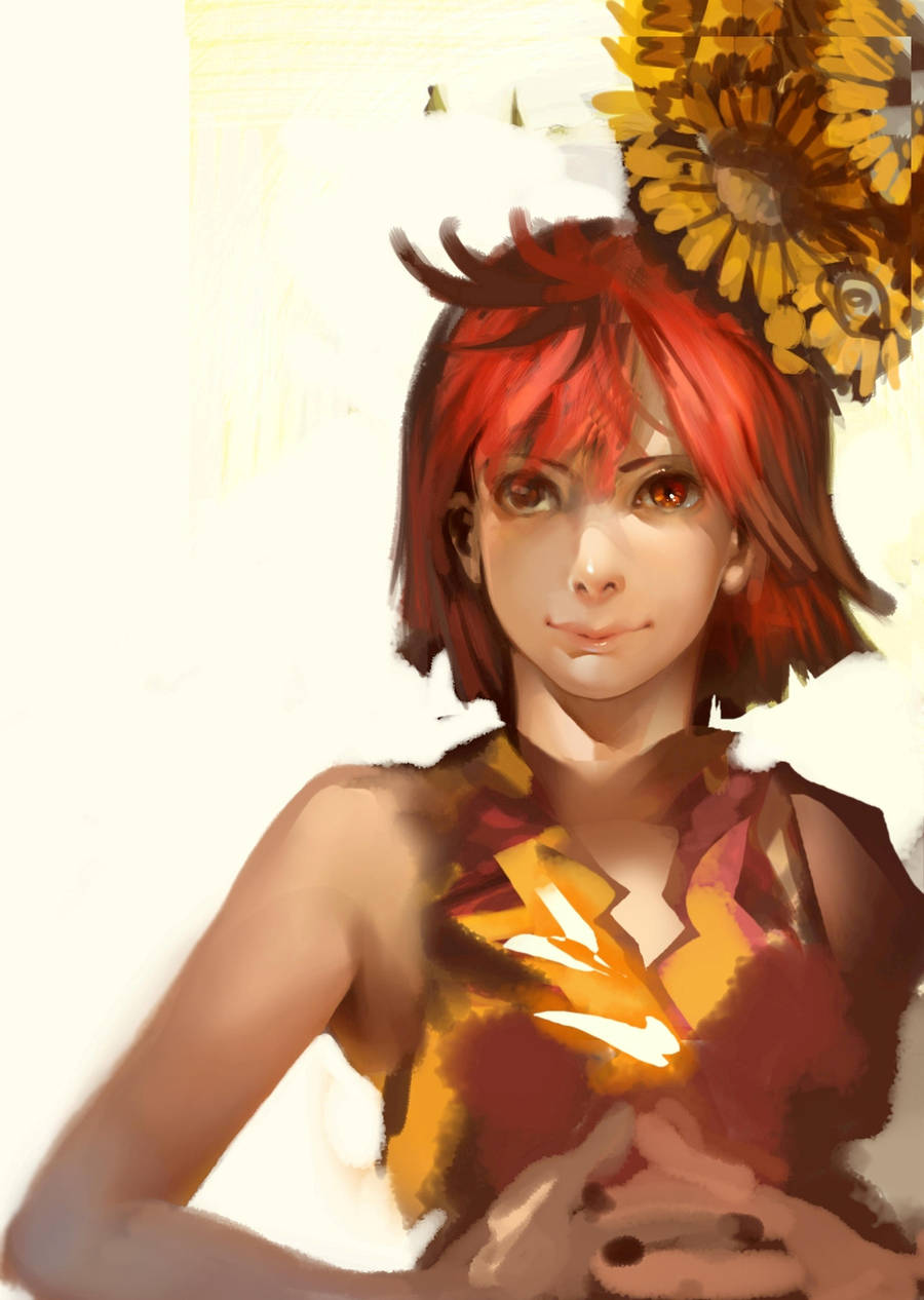 RAKUGAKI of girl by k-BOSE