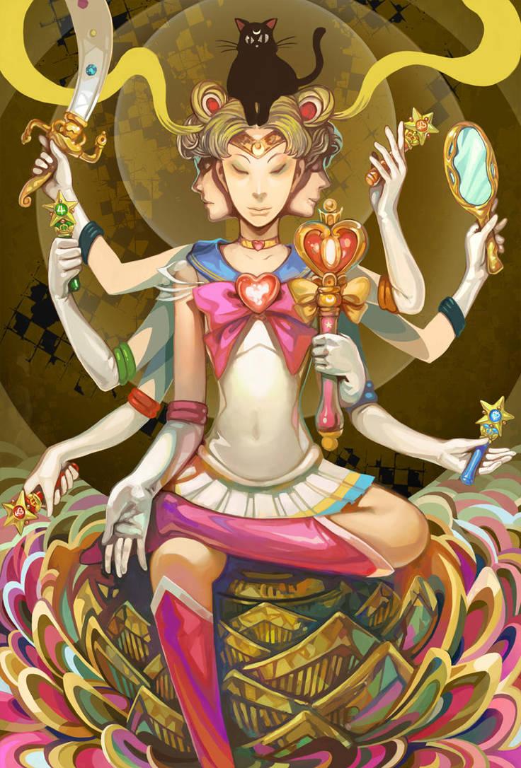 Mandala Moon by k-BOSE