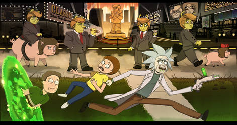Rick and Morty Interdimensionally Dysfunctional by Chronorin