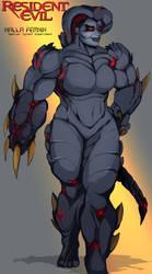 Resident Evil Babes: Tyrant Nalla I by Chronorin