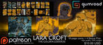 Lara Croft: The Golden Goddess Comic by Chronorin
