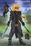 Disney Transformations: Black Knight Calla by Chronorin