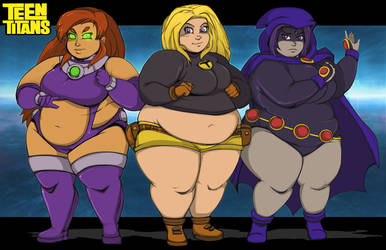 Chubby Titans by Chronorin