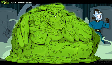 Shego and the Slime VIII by Chronorin